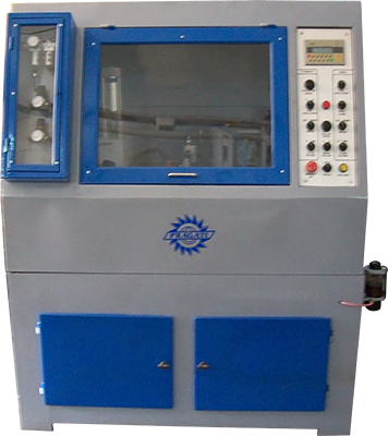 SPM-DH-RC Horizontal Double Head Honing Machine, for radial and cylindrical bearings